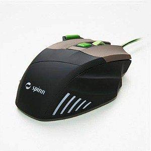 Mouse Gamer, Army Line, Sniper, Spinn, PT/VD, 3200DPI - 7898616290167