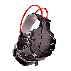 Headset C3Tech, Sparrow, Preto/Vermelho, P2/USB, Gamer - PH-G11BK