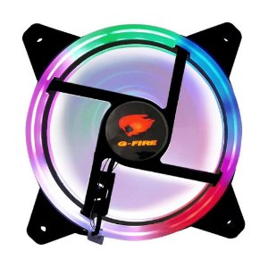 Cooler GFire, Rainbow Led, PPC, 120x120x25mm - EW0509R