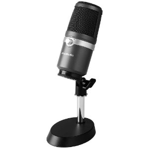 Microfone Avermedia, AM310, Profissional, USB, Streamer Pack, Prata - 40AAAM310ANB