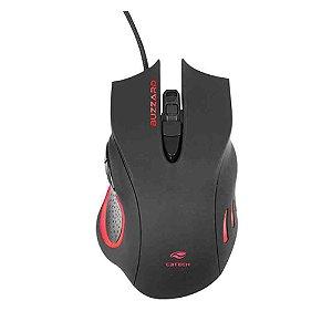 Mouse Gamer, C3Tech, Buzzard, Preto, RGW, MG110BK - 7898555210875