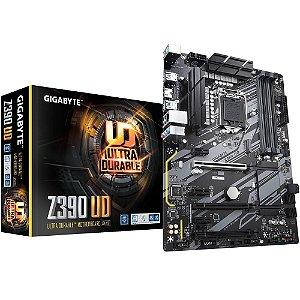 Placa Mãe Gigabyte, Z390 UD, DDR4, Intel, LGA 1151, 8/9 Geração - 4719331804411