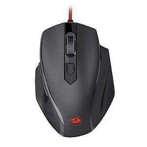 Mouse Gamer Redragon, Tiger 2, 3200DPI, USB, Preto/Vermelho, C/Fio, M709-1 - 6950376776372