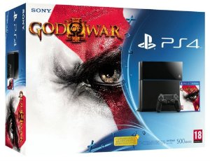 Playstation 4 - 500GB - God of War 3 Remasterizado Bundle 1215A - PS4 - Play 4
