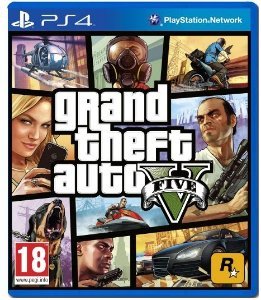 Jogo GTA 5 - Grand Theft Auto V - PS4 - Play 4 - Playstation 4 - Mundo aberto