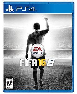 Jogo Fifa 16 - PS4 - Futebol  - PLAY 4 - PLAYSTATION 4
