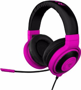 Fone Headphone Razer Kraken Pro Neon red vermelho - RZ04-01400500-R3U1