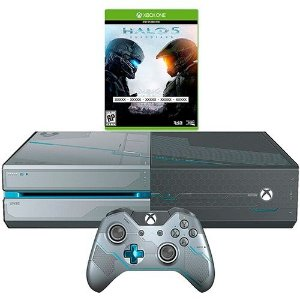 Console Xbox One 1TB + Game Halo 5: Guardians (download) + Kit de fábrica