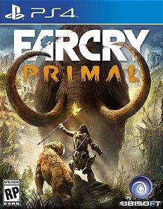 Jogo Far Cry Primal - PS4 - PLAY 4 - PLAYSTATION 4 - Aventura/ação/idade da pedra