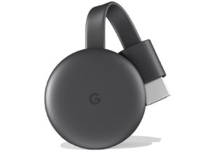 GOOGLE CHROMECAST 3 MODELO NOVO - Smart TV - Votogames