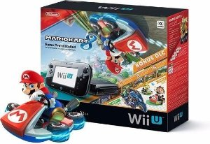 Wii U - Nintendo Wii U 32GB Deluxe Edition Mario Kart 8 - VOTOGAMES - Wiiu
