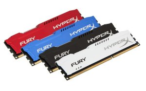 MEMÓRIA KINGSTON HYPERX FURY 8GB 1600MHZ DDR3 CL10 DIMM
