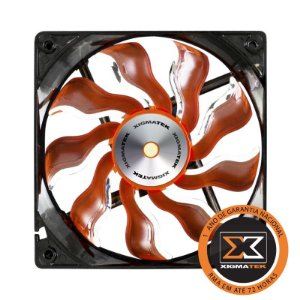 FAN COOLER XIGMATEK 120MM (XAF-F1253) - LARANJA E