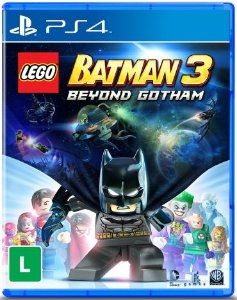 JOGO LEGO BATMAN 3 - PS4 - PLAY 4 - PLAYSTATION 4 - AVENTURA