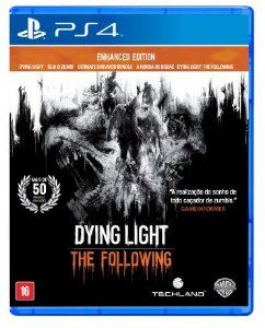 JOGO DYING LIGHT: THE FOLLOWING - PS4 - PLAY 4 - PLAYSTATION 4 - Sobrevivência