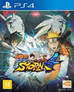 Jogo Naruto Shippuden: Ultimate Ninja Storm 4 - PS4 - PLAY 4 - PLAYSTATION 4 - Luta