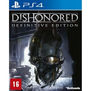 Jogo Dishonored: Definitive Edition - PS4 - PLAY 4 - PLAYSTATION 4 - Aventura/Stealth