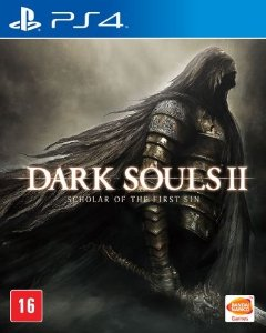 Jogo Dark Souls II: Scholar of the first Sin - PS4 - PLAY 4 - PLAYSTATION 4 - RPG