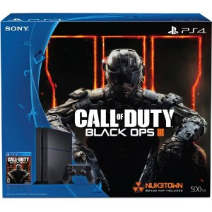 Playstation 4 500GB - PS4 - Play 4 / Bundle Call of Duty: Black Ops 3 (mídia física)