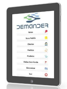 DEMANDER - Força de Venda para Android