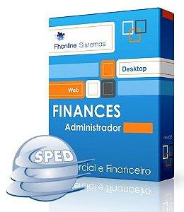 FINANCES Administrador com SPED