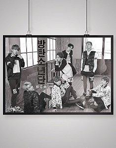 Combo Posters Black Shades Bangtan Boys BTS