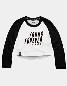 Cropped Raglan BTS Bangtan Boys Young Forever
