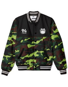 Bomber Jacket Personalizada BTS Camo