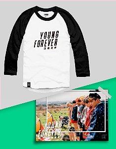 Combo Raglan BTS Bangtan Boys Young Forever + Poster