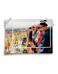 Poster BTS Young Forever Day
