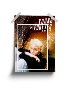 Poster BTS Young Forever Jin