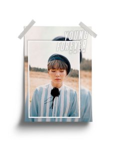 Poster BTS Young Forever Suga