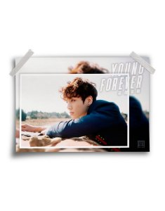 Poster BTS Young Forever Jung Kook