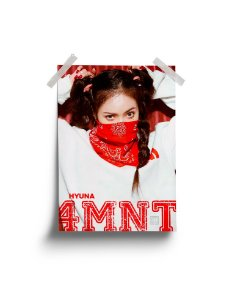 Poster 4Minute Hate Hyuna