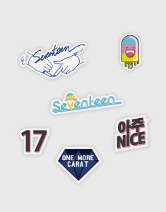 Kit de Patches SEVENTEEN