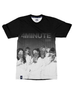 T-Shirt Black Shade 4MINUTE