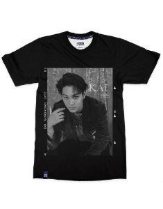 T-Shirt Black Shade EXO Kai
