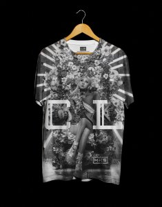 T-Shirt Black Shade 2NE1 CL