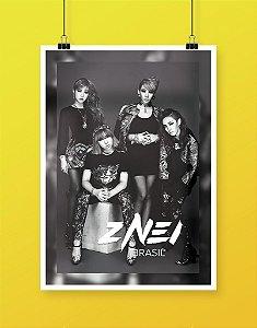 Poster 2NE1 Brasil