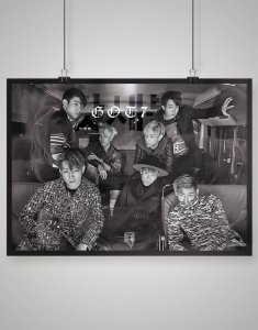 Poster Black Shade GOT7