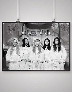 Poster Black Shade Red Velvet