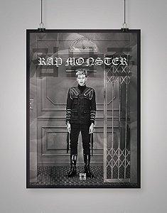 Poster Black Shade Bangtan Boys BTS Rap Monster