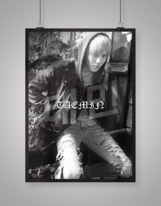 Poster Black Shade SHINee Taemin