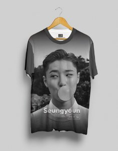 T-Shirt Black Shade UNIQ Seungyoun