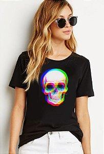 Blusa Skull 3D
