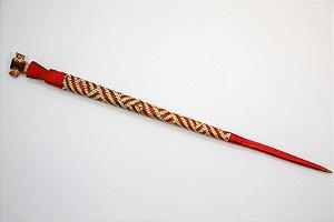 Lança de madeira - Tribo Mehinako