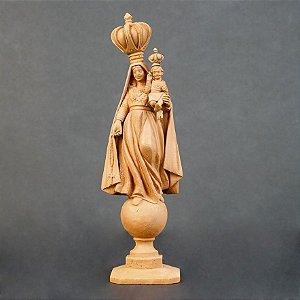 Escultura de terracota Nossa Senhora do Brasil - Leonilson Arcanjo