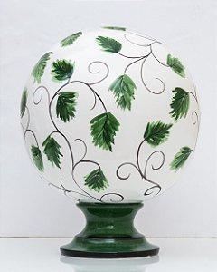 Vaso Folhas Ornamentadas