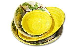 Tigelas limão siciliano