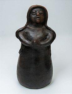 Escultura da Virgem Maria - Artista Ediltrudis Noguera